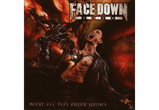 Face Down Hero - Where All This Anger Grows - (CD)