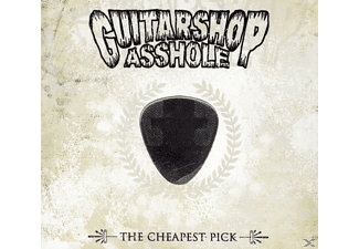 Guitarshop Asshole - The cheapest pick - (CD)
