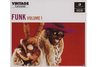 VARIOUS - VINTAGE GROOVES-FUNK VOL.1 - (CD)