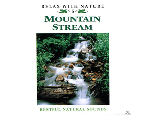 Natuurgeluiden (zonder Muziek), Restful Natural Sounds - Mountain Stream - (CD)