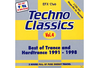 VARIOUS - Techno Classics 4 - (CD)