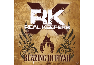 Real Keepers - Blazing Di Fiyah - (CD)