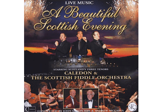 CALEDON,CALEDON & SCOTISH FIDDLE ORCHESTRA,THE - A Beautiful Scotish Evening-Live - (CD)
