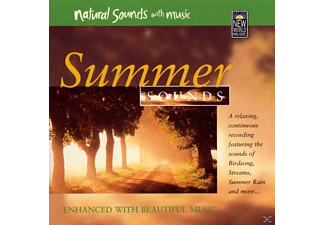 Natuurgeluiden (met Muziek), Natural Sounds With Music - Summer Sounds - (CD)