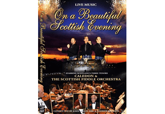 Caledon & The Scottish Fiddle Orchestra, Caledon & The Scotish Fiddle Orchestra - On a beautiful scotish evening-LIVE - (DVD)