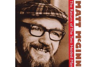 Matt Mcginn - The Return Of The Two Heided Man - (CD)