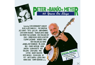 "Peter ""banjo"" Meyer - 40 Years On Stage - (CD)"