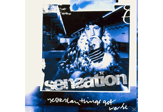 Sensation - Yesterday Things Got Worse - (CD)