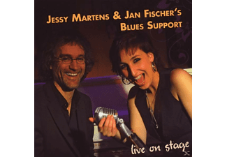 JESSY,MARTENS & FISCHER'S BLUES SUP.,JAN - Live on stage - (CD)