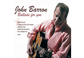 John Barron - Ballads For You [CD]