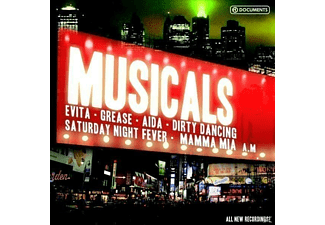 VARIOUS - Great Musicals - (CD)