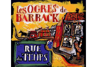 Les Ogres De Barback - RUE DU TEMPS - (CD)