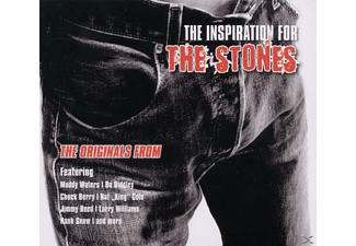 VARIOUS - The Inspiration For The Stones - (CD)