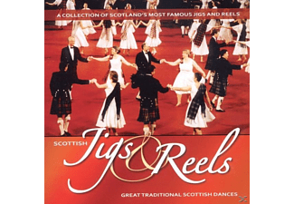 Scottish Jids & Reels - Great Traditional Scottish Dances - (CD)
