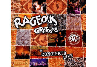 Rageous Gratoons - In Concierto Live - (CD)