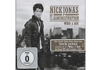 Nick & The Administration Jonas - Who I Am (Deluxe Version) - (CD + DVD Video)