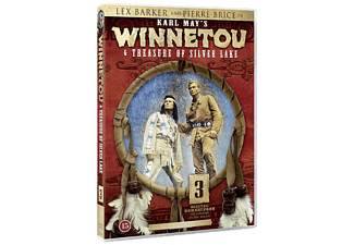 Winnetou and Treasure of Silver Lake Western DVD