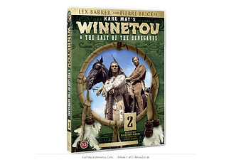 Winnetou and The last of the renegades Western DVD