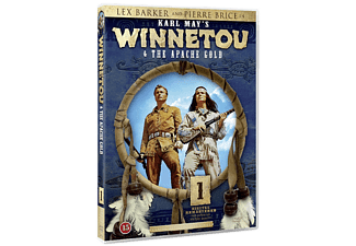 Winnetou and The Apache Gold Western DVD