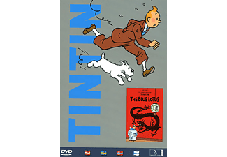 Tintin - Blå Lotus Animation / Tecknat DVD