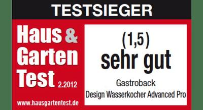 gastroback wasserkocher 42429 design advanced pro mediamarkt. Black Bedroom Furniture Sets. Home Design Ideas