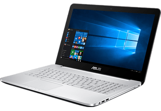 ASUS N552VX-FY104T, Notebook mit 15.6 Zoll Display, Core i7 Prozessor, 8 GB RAM, 1 TB HDD, 128 GB SSD, GeForce GTX 950M, Grau