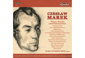 Marie-catherine Girod - Marek Piano Music Vol.2 - (CD)
