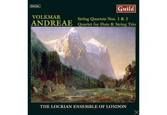 Locrianensembleoflondon, The Locrian Ensemble Of London - Andreae String Quartets - (CD)