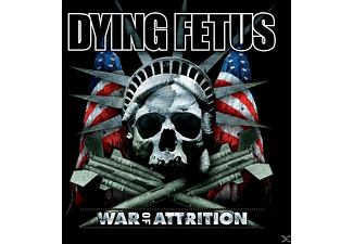 Dying Fetus - War Of Attrition (Black LP+MP3) - (LP + Download)