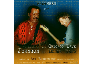 Jimmi Johnson/Chicago Dave Blues Band, Jimmy/chicago Dave Blu Johnson - Brothers Live - (CD)