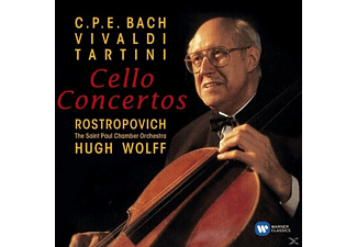 The Saint Paul Chamber Orchestra, Mstislav Rostropovich, Hugh Wolff - Cellokonzerte - (CD)