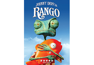 Rango Animation / Tecknat DVD