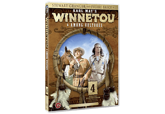 Winnetou and The Among Vultures Western DVD