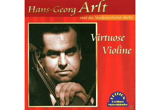 Hans Georg & Streichorch Arlt, Hans-georg Arlt - Virtuose Violine - (CD)