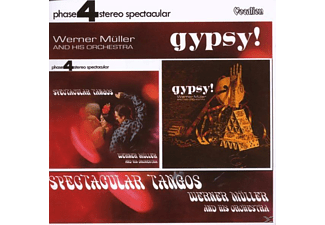 Werner & His Orchestra Müller - SPECTACULAR TANGOS & GYPSY! - (CD)