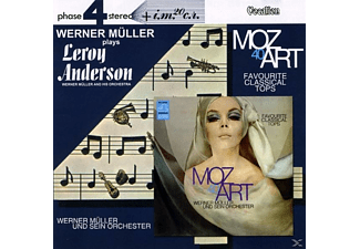 Werner & His Orchestra Müller - PLAY LEROY ANDERSON & MOZART 40 - (CD)