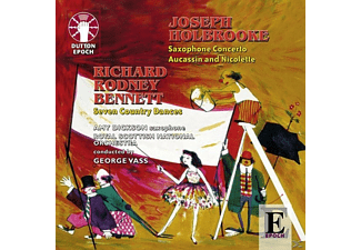Vass, Royal Scottish Nat.Orch., Dickson - Saxophon-Konzert/Aucassin... [CD]