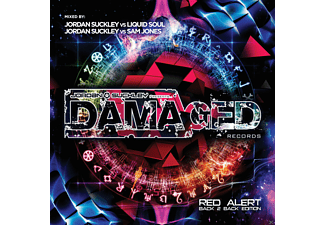VARIOUS - Damaged Records: Red Alert - Back 2 Back Edition [CD]