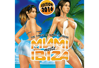 VARIOUS - Miami Meets Inbiza 2016 - (CD)