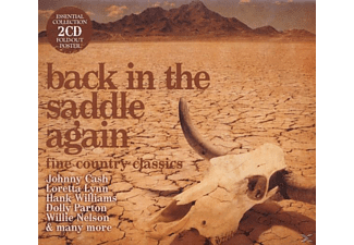 VARIOUS - Back In The Saddle Again-Fine Country Classics - (CD)