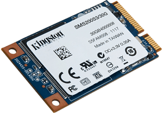 KINGSTON SSDNow 30GB 550MB-510MB/s mSATA SSD (SMS200S3/30G)