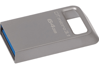 KINGSTON 64GB DTMICRO 3.1/3.0 Metal USB Bellek