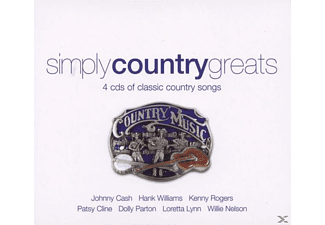 Various - Simply Country Greats - (CD)