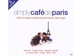 VARIOUS - Simply Cafe De Paris - (CD)