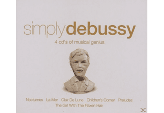 VARIOUS - Simply Debussy [CD]