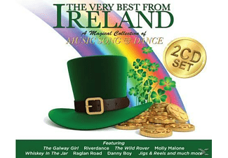 VARIOUS - The Very Best From Ireland - (CD)