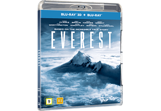 Everest Drama 3D BD & 2D BD, Blu-Ray