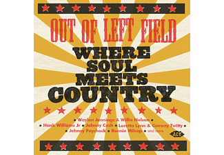 VARIOUS - Out Of Left Field-Where Soul Meets Country - (CD)