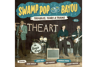 Various - Swamp Pop By The Bayou-Troubles, Tears & Trains - (CD)