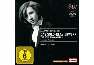 Maria Lettberg - Das Klavierwerk (Ga) [CD + DVD Video]